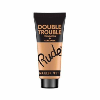 RUDE Double Trouble Foundation + Concealer - Cocoa