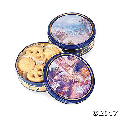 Butter Cookie Tins Pack of 2