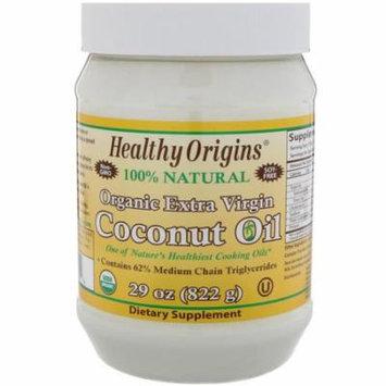 Healthy Origins, Organic Extra Virgin Coconut Oil, 29 oz (pack of 2)
