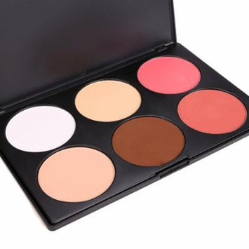 Professional Makeup Cosmetic Powder Blush Blusher Pressed Powder 6 Colors VAF