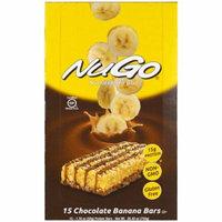 NuGo Nutrition, Nutrition To Go, Chocolate Banana Bars , 15, 1.76 oz (50 g) Each(pack of 1)