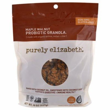 Purely Elizabeth, Probiotic Granola, Maple Walnut, 8 oz (pack of 6)
