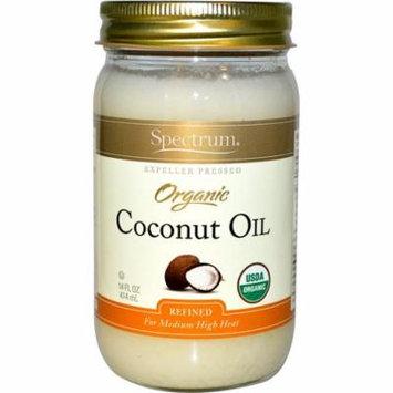 Spectrum Naturals, Organic Coconut Oil, 14 fl oz (pack of 4)
