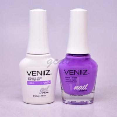 Veniiz Match UV Gel Polish V025 Lotus Cream