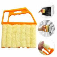 Mini Hand-held Cleaner,Venetian Blind Brush Window Air Conditioner Duster Cleaner