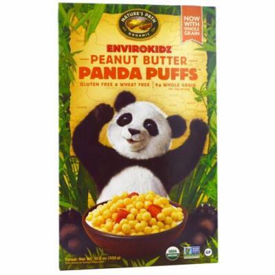Nature's Path, EnviroKidz, Organic Peanut Butter Panda Puffs, 10.6 oz (pack of 4)