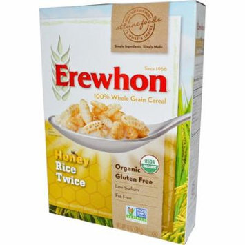 Erewhon, Honey Rice Twice Cereal, 10 oz (pack of 4)