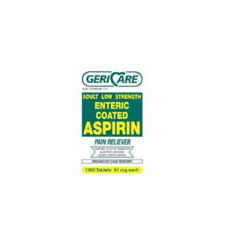 GeriCare Pain Relief 81 mg Strength Coated Tablet 1000 per Bottle (1 Bottle)