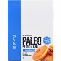 The Julian Bakery, Paleo Protein Bar, Glazed Donut, 12 Bars, 2.12 oz (60 g) Each(pack of 2)