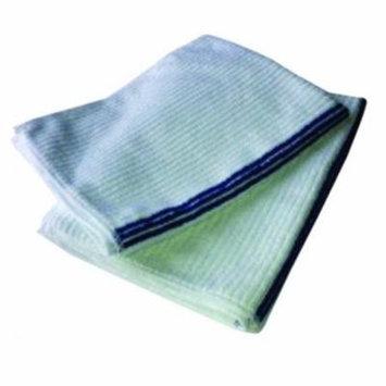 Ribbed Microfiber Bar Mop Pallet, 15in x 18in: 2700 Towels or 225 12-Packs