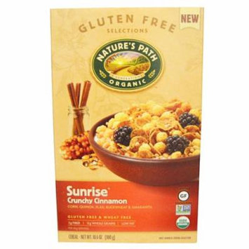 Nature's Path, Organic Sunrise Crunchy Cinnamon Cereal, 10.6 oz (pack of 6)