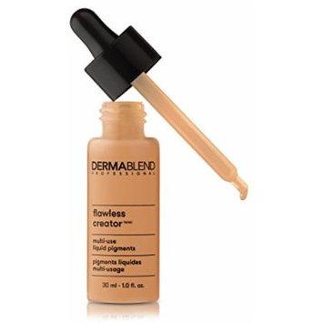 Dermablend Flawless Creator Liquid Foundation Makeup Drops, Oil-Free, Water-Free, 43N, 1 Fl. Oz.