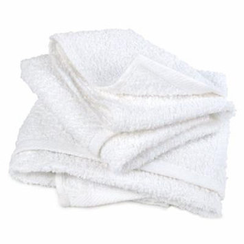 White Terry 28 oz Bar Mop Pallet, 16 x 19: (4320 Towels or 360 12-Packs)