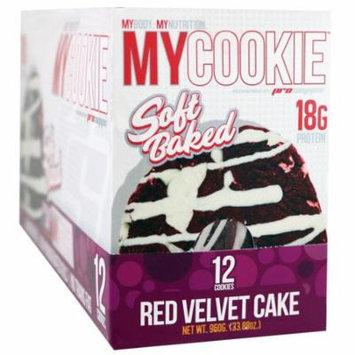 ProSupps, My Cookie, Red Velvet Cake, 12 Cookies, 2.82 oz (80 g) Each(pack of 4)