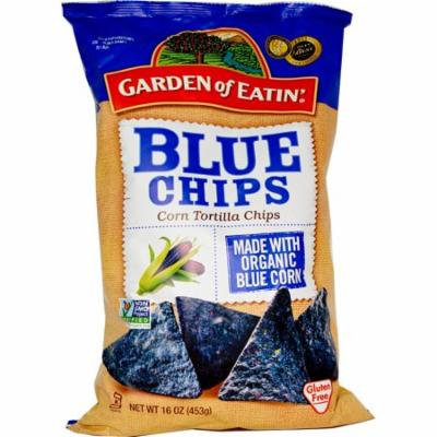 Garden of Eatin', Corn Tortilla Chips, Blue Chips, 16 oz (pack of 3)