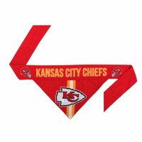 Kansas City Chiefs Dog Bandanna Size XS