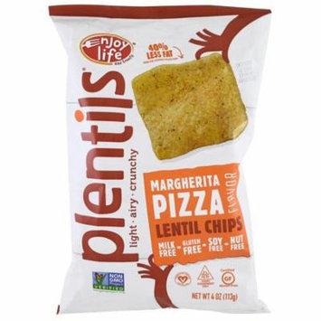 Enjoy Life Foods, Plentils, Lentil Chips, Margherita Pizza Flavor, 4 oz (pack of 4)