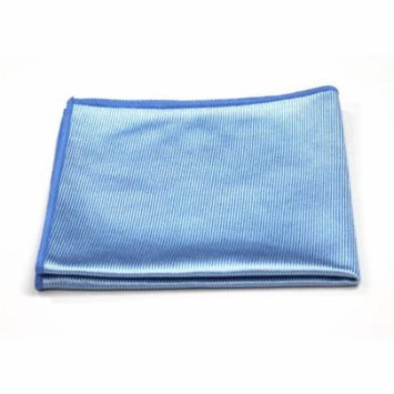 Microfiber Glass Cleaning Cloth, 16in x 16in: 12-Pack