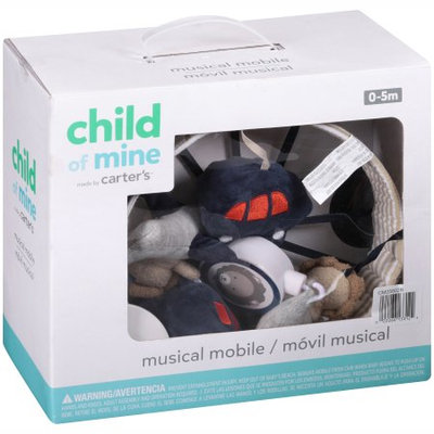 Triboro Quiilt Manufacturing Corporation Child of Mine by Carter's Transportation Musical Crib Mobile