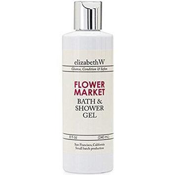 elizabethW Flower Market Bath and Shower Gel