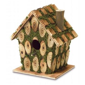 Zingz & Thingz 57070161 Knotty Wood Birdhouse
