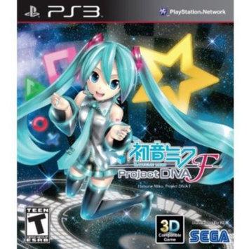 Sga Hatsune Miku: Project Diva F PS3 Game SEGA