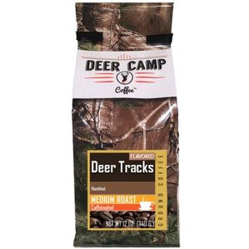 Buck Baits, Llc Deer Camp Coffee Deer Tracks Hazelnut Flavored 12 Oz Ground