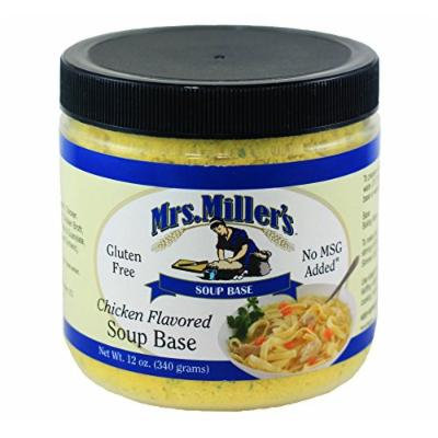 Mrs Miller's Chicken Flavored Soup Base 12 oz. (3 Jars)