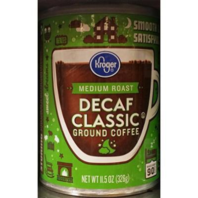 Kroger Medium Roast Decaf Classic Ground Coffee 11.5 oz (Pack of 2)
