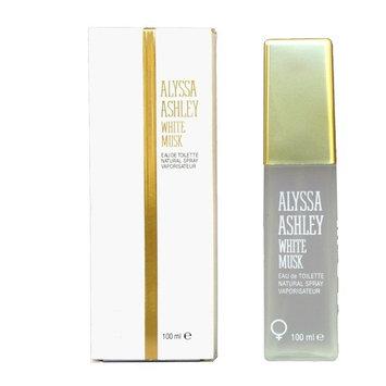 Alyssa Ashley White Musk Eau De Toilette Spray for Women, 3.4 Ounce