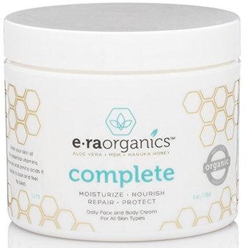 Natural Face Moisturizer Skin Cream - Advanced 10-In-1 Non Greasy Daily Facial Cream with Aloe Vera, Manuka Honey, Coconut Oil, Cocoa Butter and More For Oily, Dry, Sensitive Skin