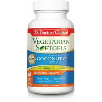 U.s. Doctor's Clinical U.S. Doctors' Clinical Vegetarian Softgel Coconut Oil