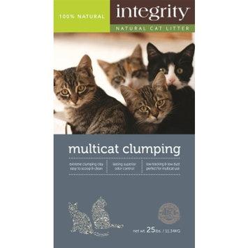 INTEGRITY CAT LITTER INTEGRITY MULTI-CAT CLUMPING LITTER 25LB