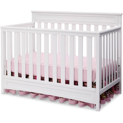 Geneva 4-in-1 Convertible Crib, White