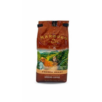 Marques de Paiva Fair Commerce Ground Coffee 12oz Bag (French Roast)