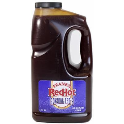 Frank's RedHot General Tso's Hot Sauce, 1/2 Gallon (64 Ounce)