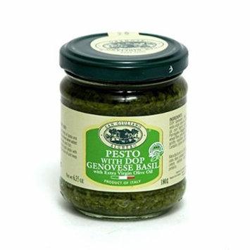 San Giuliano Pesto Basil Sauce w/ Extra Virgin Olive Oil, 6.35 oz (Pack of 3)
