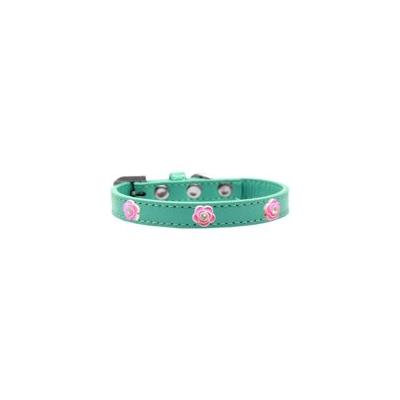 Mirage Pet Products 83-05 12Rd Jewel Flower Leather Red 12