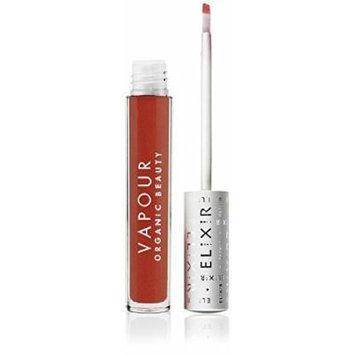 Vapour Organic Beauty Elixir Lip Gloss, Flare-Warm Cherry Red, 0.13 Ounce