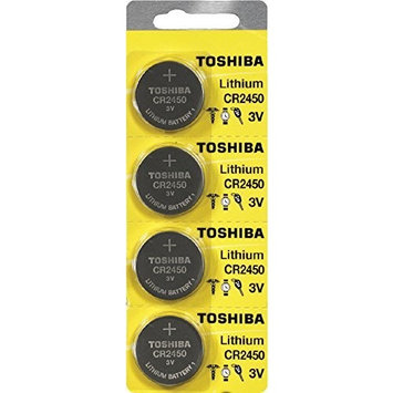 Toshiba CR2450 3 Volt Lithium Coin Battery (40 Batteries)