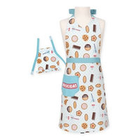 Milk & Cookies Doll and Child Apron Set