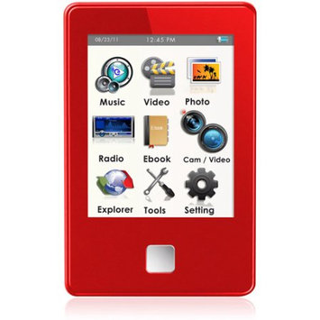 XO Vision Ematic 4GB Video Player Red