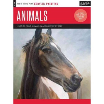 Acrylic: Animals : Learn to Paint Animals in Acrylic Step by Step - 40 Page Step-By-Step Painting Book