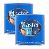 Master Chef Coffee, Medium Roast Ground, 30.5 Ounce, 2 Pack