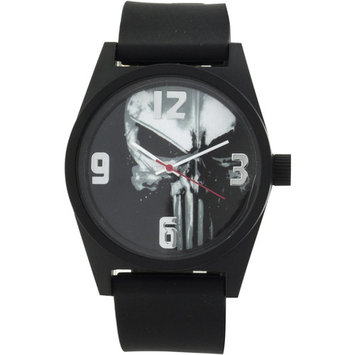 Marvel Punisher Men's Analog Watch, Black Band
