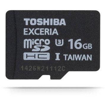 16GB Toshiba Exceria™ MicroSD Memory Card (UHS-I)