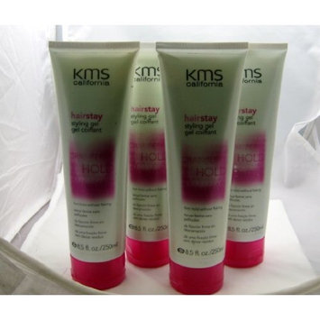 KMS Hair Stay Styling Gel 8.5oz (4-PACK)