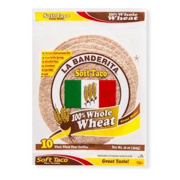 La Banderita 100% Whole Wheat Flour Tortillas 10ct - 16oz