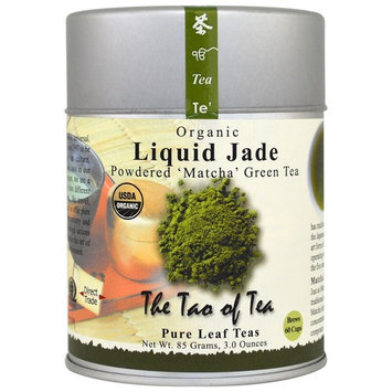 The Tao of Tea, Organic Powdered Matcha Green Tea, Liquid Jade, 3 oz(pack of 1)