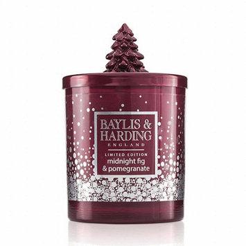 Baylis & Harding Midnight Fig and Pomegranate Luxury Scented Candle